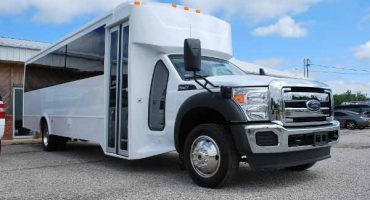 22 Passenger party bus rental new orleans