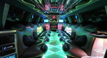 Hummer limo interior new orleans