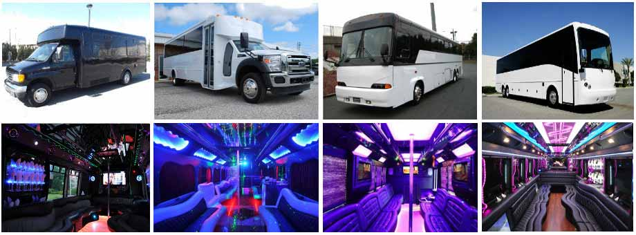 Prom & Homecoming Party buses New Orleans