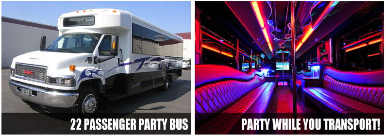Prom & Homecoming party bus rentals New Orleans
