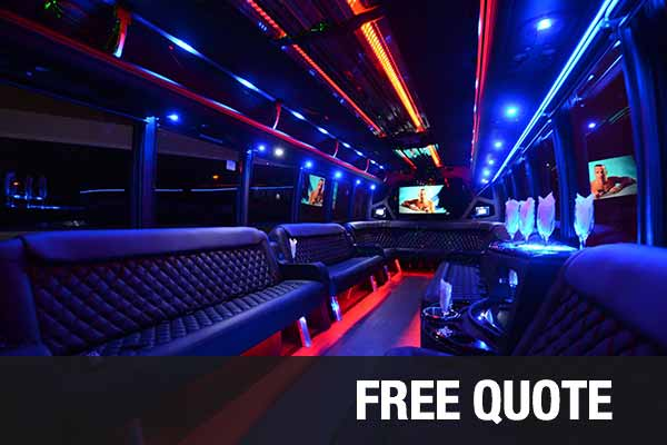 Wedding Transportation party buses for rental New Orleans